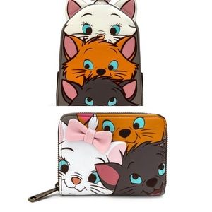 Loungefly Aristocats Wallet & Mini Backpack